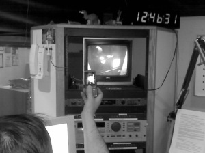 Studio monitor view