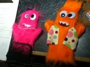 Radio puppets!